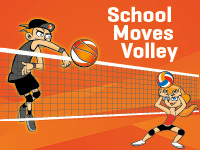 Banner School Moves Volley